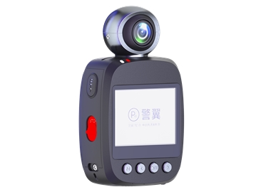 Front facing screen body worn camera